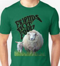 Vegan Victor - Friends Not Food Unisex T-Shirt