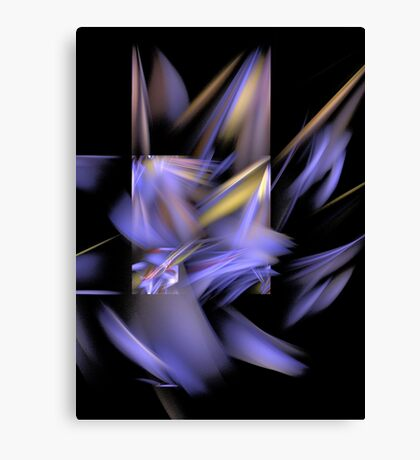 Complementary Shapes Canvas Print
