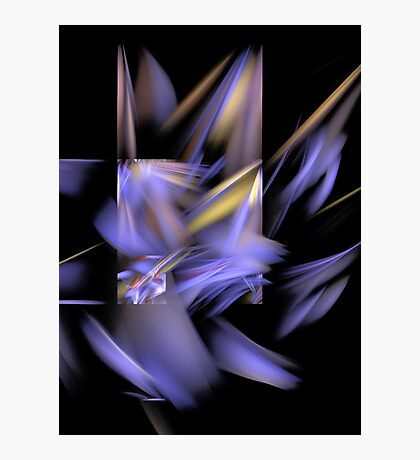 Complementary Shapes Photographic Print