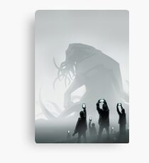 The End lol Canvas Print