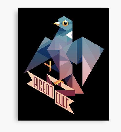 Pigeon Cult Canvas Print