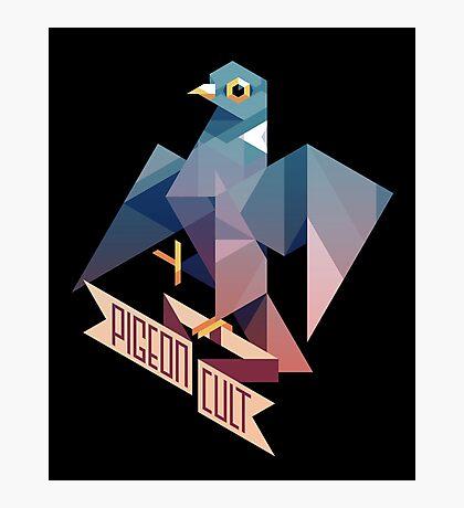 Pigeon Cult Photographic Print