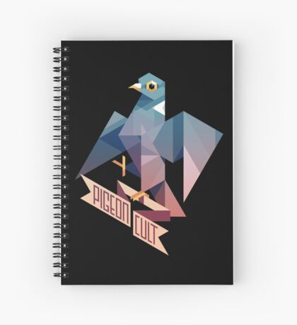 Pigeon Cult Spiral Notebook
