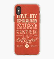 Fruit of the Spirit (Galatians 5:22) iPhone Case