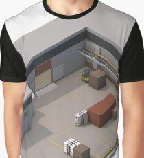 Isometric de_cache Graphic T-Shirt