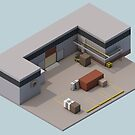 Isometric de_cache by drizzly