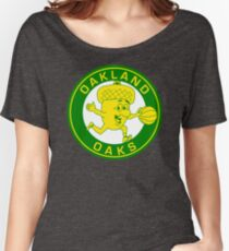 DEFUNCT - OAKLAND OAKS Women's Relaxed Fit T-Shirt