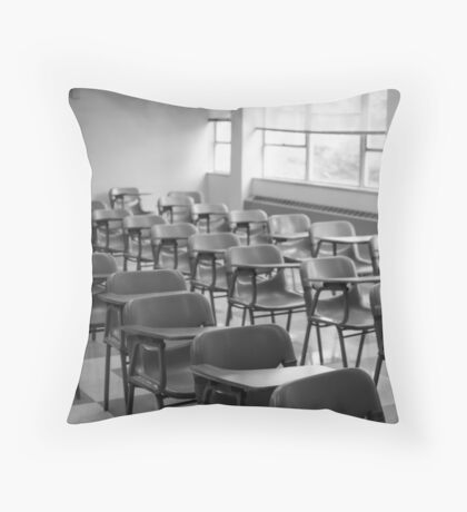 A Forgotten Scene Throw Pillow