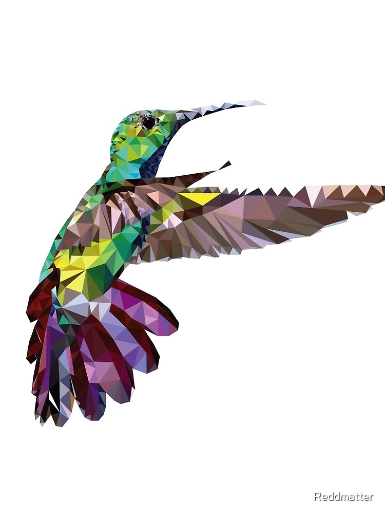 Geometric Hummingbird by Reddmatter