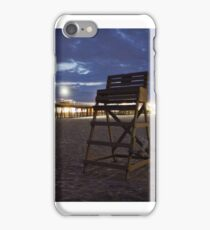 Lifeguard Stand & Pier iPhone Case/Skin