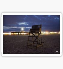 Lifeguard Stand & Pier Sticker