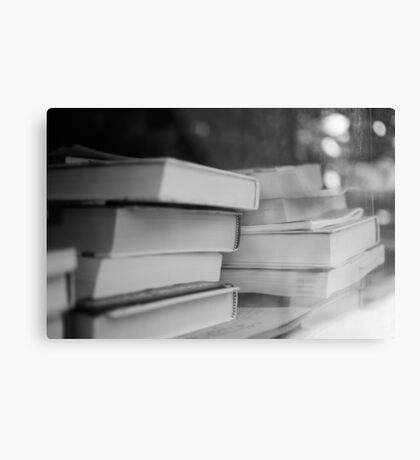Booked Erudition Metal Print