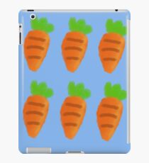 Oil Pastel carrots pattern iPad Case/Skin