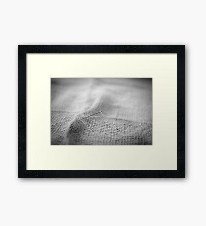 Torn Framed Print