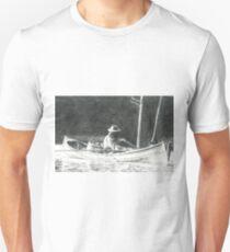 Man Rowing Unisex T-Shirt