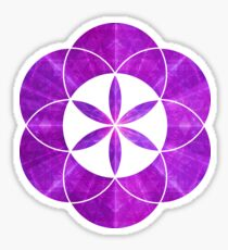 Ki Blast From Ancient Mew Metatron Overlay | Sacred Geometry Flower of Life Sticker