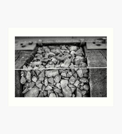 Rocks and a Hard Place Art Print