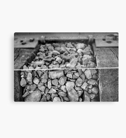 Rocks and a Hard Place Metal Print