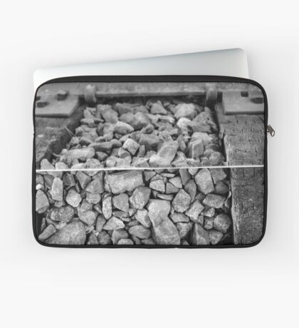 Rocks and a Hard Place Laptop Sleeve