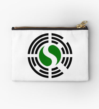 Korean Nigerian Multinational Patriot Flag Series Zipper Pouch