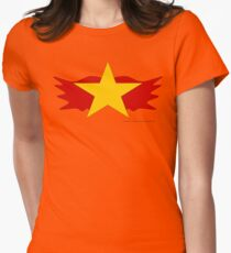 Wildfire, Legion of Superheroes Womens Fitted T-Shirt