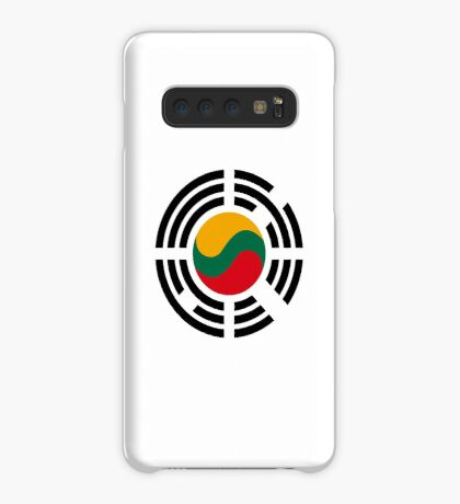 Korean Lithuanian Multinational Patriot Flag Series Case/Skin for Samsung Galaxy