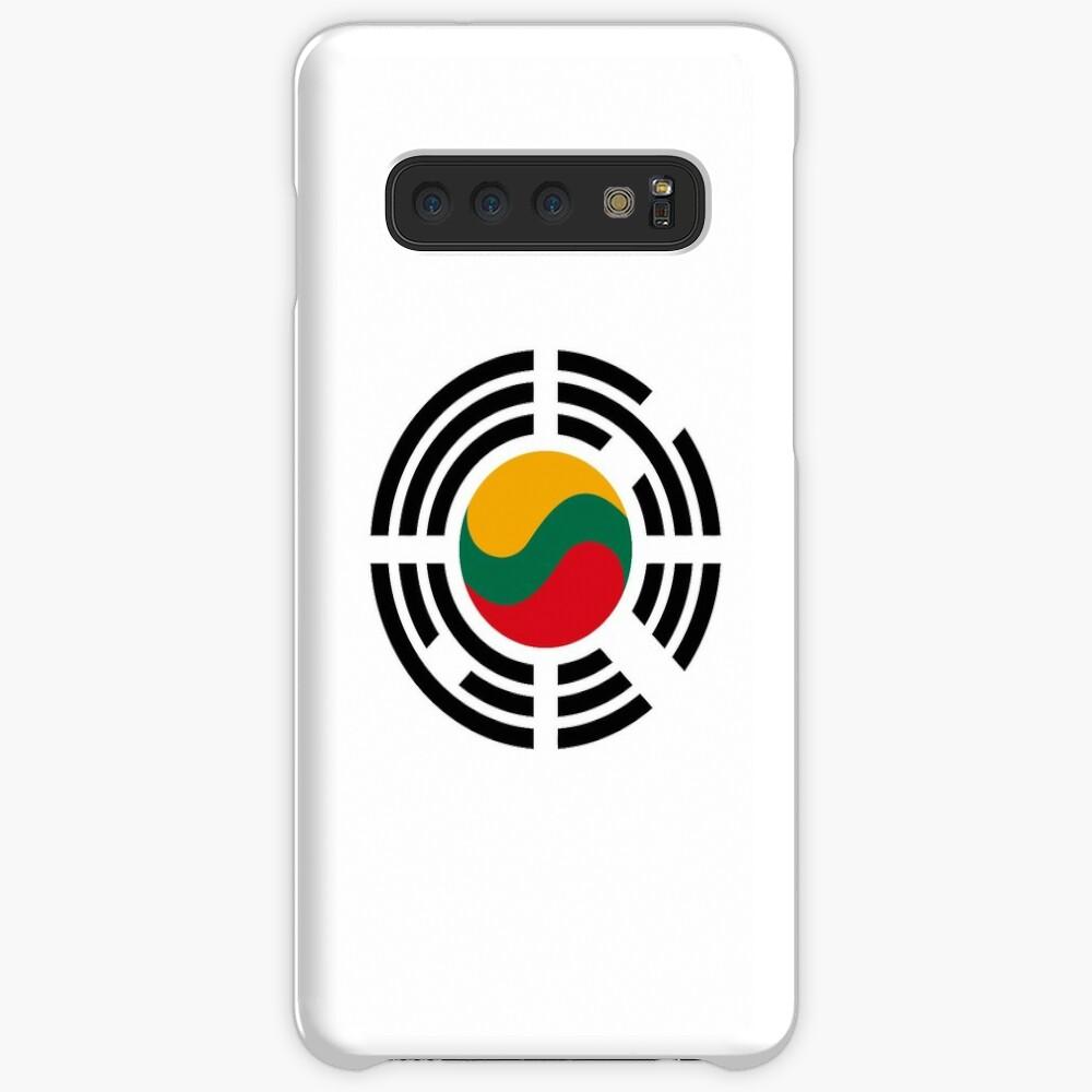 Korean Lithuanian Multinational Patriot Flag Series Case & Skin for Samsung Galaxy
