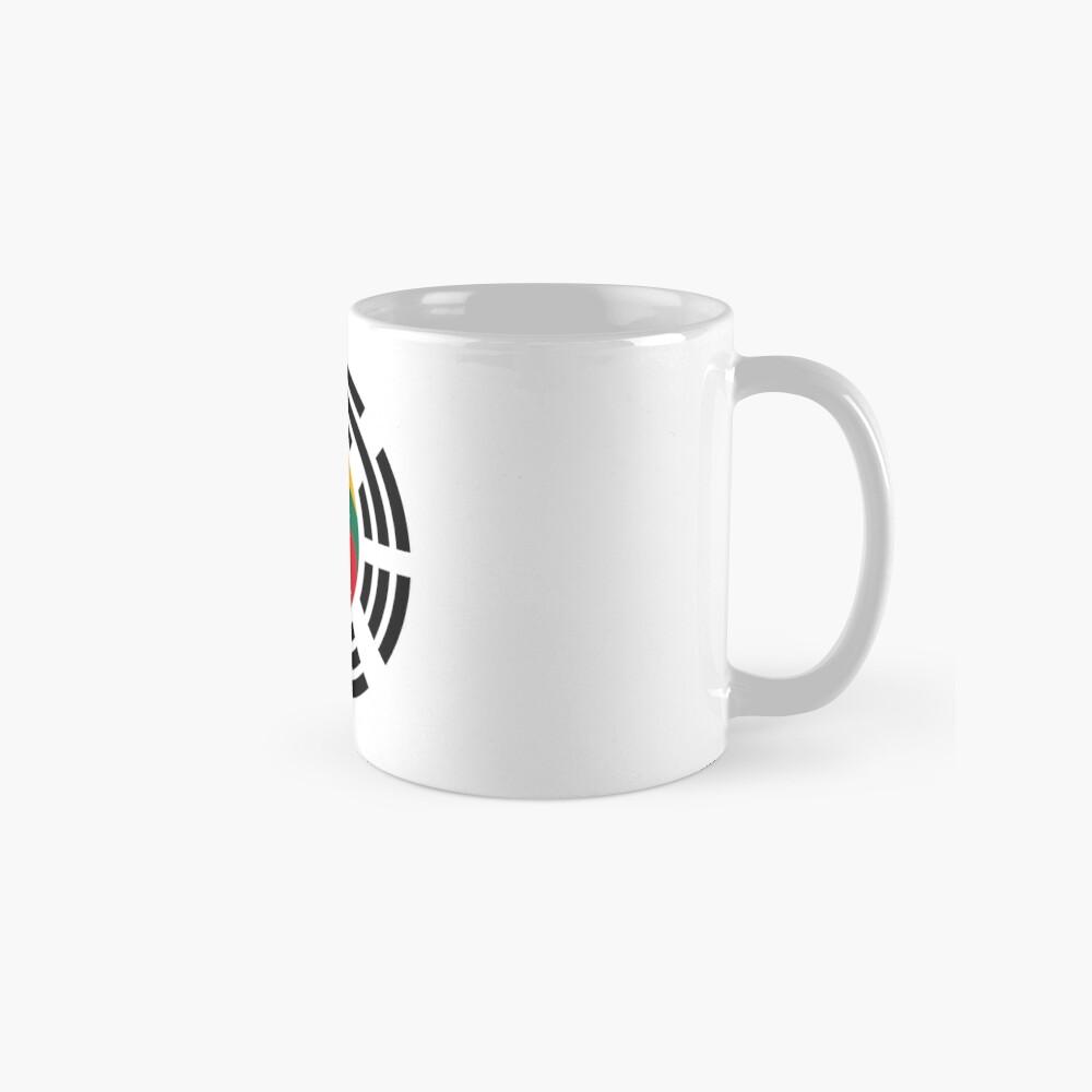Korean Lithuanian Multinational Patriot Flag Series Mug