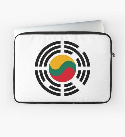 Korean Lithuanian Multinational Patriot Flag Series Laptop Sleeve