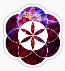 Mystic Carina | Sacred Geometry Flower of Life Sticker