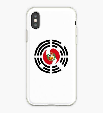 Korean Peruvian Multinational Patriot Flag Series iPhone Case