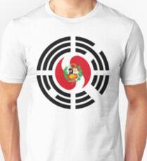 Korean Peruvian Multinational Patriot Flag Series Slim Fit T-Shirt