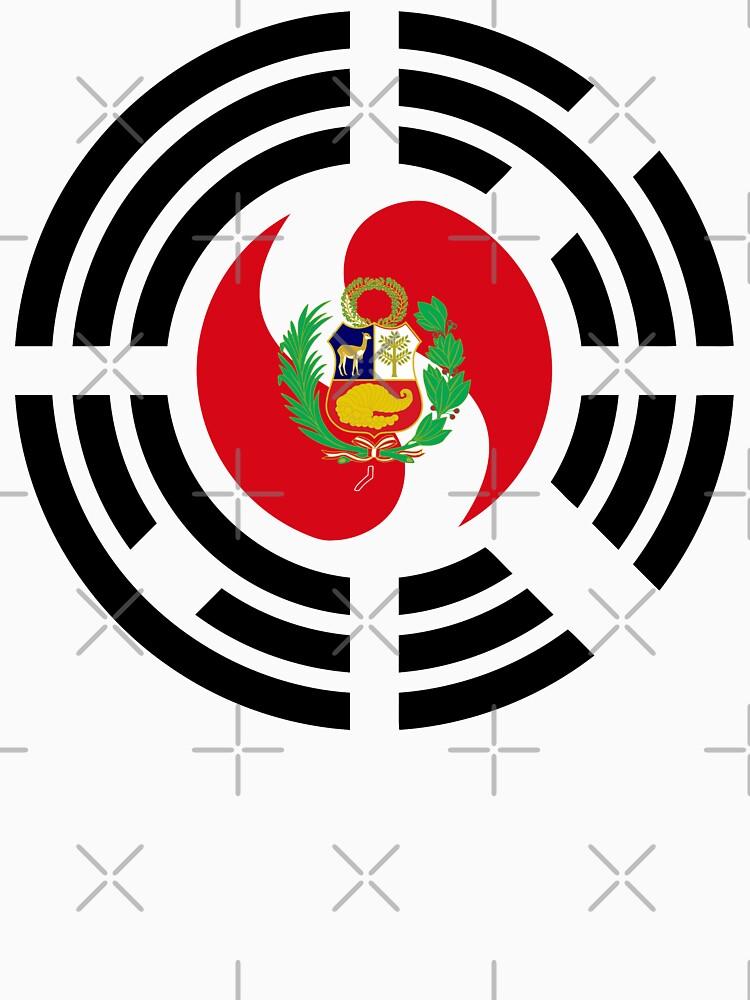 Korean Peruvian Multinational Patriot Flag Series by carbonfibreme