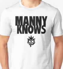 Manny Pacman Pacquiao Knows Unisex T-Shirt
