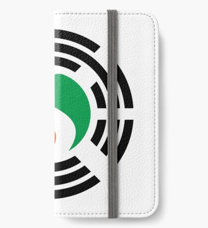 Korean Ivory Coast Multinational Patriot Flag Series iPhone Wallet