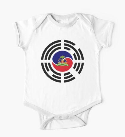 Korean Haitian Multinational Patriot Flag Series Kids Clothes