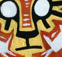 Acrylic Tiger Sticker