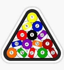 8-ball Pool ball Sticker
