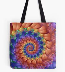 Beautiful Rainbow Spiral  Tote Bag