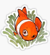 Lil' Clownfish Sticker