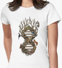 Infinitree of Life Womens Fitted T-Shirt