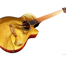 The guitar is a lady'... by Valerie Anne Kelly