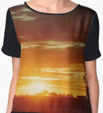 Laverton Sunrise 2 Chiffon Top