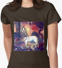 The last Unicorn Women's Fitted T-Shirt