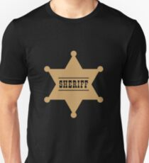Sheriff's Star Unisex T-Shirt