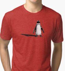 Penguin 2 (ladies T) Tri-blend T-Shirt