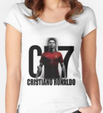CRISTIANO RONALDO PORTUGAL CR7 Women's Fitted Scoop T-Shirt