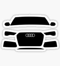Audi RS6 Quattro C7 Sticker