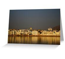 Pushkar Water Greeting Card