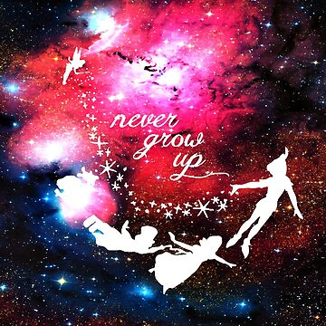 Never Grow Up Galaxy by BigCrew